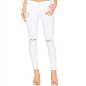 Hudson Midrise Nico Super Skinny Ankle Jeans